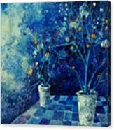 Blue Bunch Canvas Print