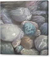Blue Calm Canvas Print
