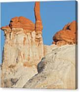 Blue Canyon Finger V Canvas Print