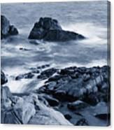 Blue Carmel Canvas Print