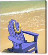 Blue Chair Canvas Print