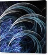 Blue Claws Canvas Print