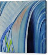 Blue Concerto 3 Canvas Print
