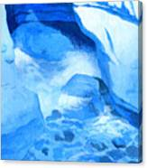 Blue Cove Canvas Print