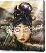 Blue Danube Acoustic  Canvas Print