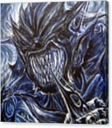 Blue Demon Canvas Print