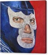 Blue Demon Jr Canvas Print