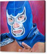 Blue Demon Canvas Print