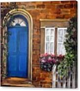 Blue Door 2 Canvas Print