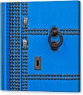Blue Door Accents Canvas Print