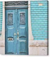 Blue Door, Portugal Canvas Print