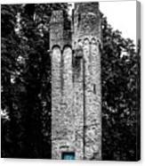 Blue Door Tower Canvas Print