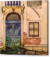 Blue Door Venice Canvas Print