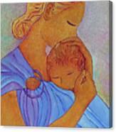 Blue Embrace Canvas Print