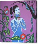 Blue Eve  No. 2 Canvas Print