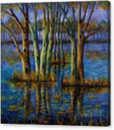Blue Evening. Canvas Print