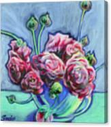 Blue Evening Canvas Print
