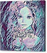 Blue Fairy Princess Canvas Print
