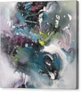 Blue Fever15 Canvas Print