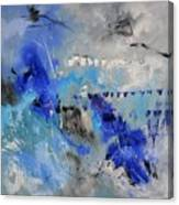 Blue Flight Abstract Canvas Print
