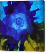 Blue Flower Canvas Print
