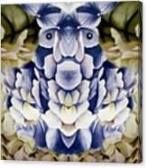 Blue Flower King Canvas Print