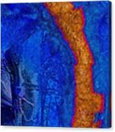 Blue Force Canvas Print
