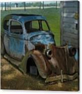 Blue Ford Canvas Print