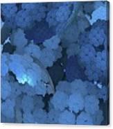 Blue Fungi Canvas Print