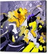 Blue Galactic Motion Canvas Print