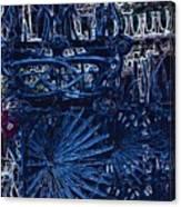 Blue Gate Barcelona Canvas Print