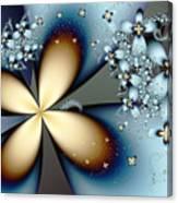 Blue Gold 4 Canvas Print