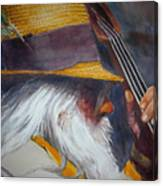 Blue Grass Bob Canvas Print