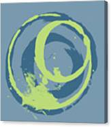 Blue Green 2 Canvas Print