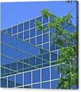 Blue Green Harmony Canvas Print