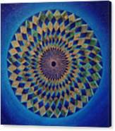 Blue Green Planet Canvas Print