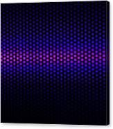 Blue Grid Canvas Print