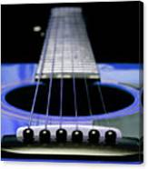 Blue Guitar 14 Canvas Print