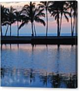 Blue Hawaiian Canvas Print