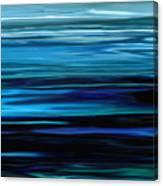 Blue Horrizon Canvas Print