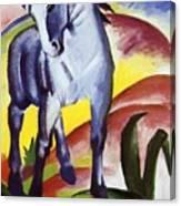 Blue Horse I 1911 Canvas Print