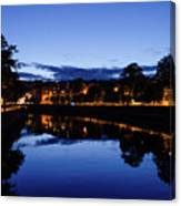 blue hour in Cork Canvas Print