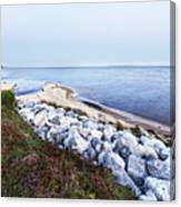 Blue Hour On Choctawhatchee Bay Canvas Print