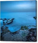 Blue Hour Sunset Canvas Print