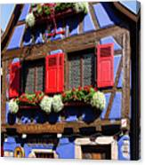Blue House # I Canvas Print