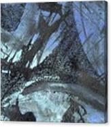 Blue Ice Pond 1  Canvas Print