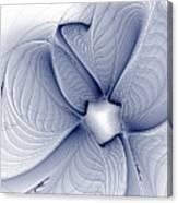 Blue Invert Canvas Print