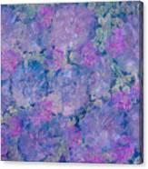 Blue Iridescent Canvas Print