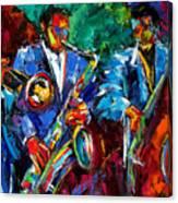 Blue Jazz Canvas Print