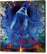 Blue Jogini Canvas Print